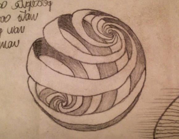 Fig. 1_I sentieri della musica nella sfera