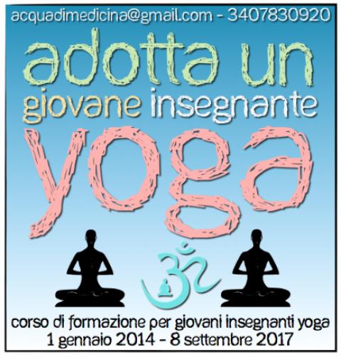 Adotta un Giovane Insegnante Yoga!
