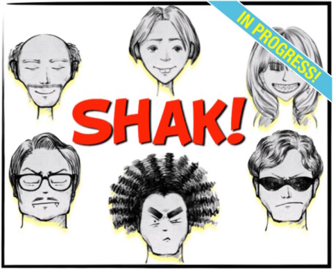 SHAK! Cartone animato, prima serie