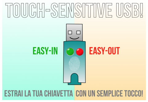 Touch-Sensitive USB