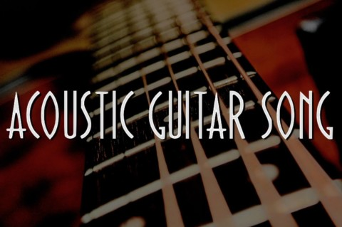 Acoustic Guitar Song